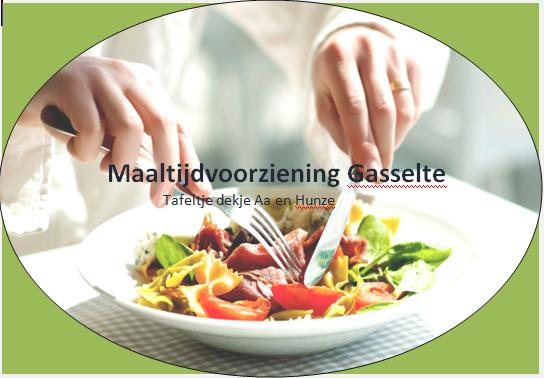 Maaltijdvoorziening Gasselte beschikt over nieuwe bestelauto.