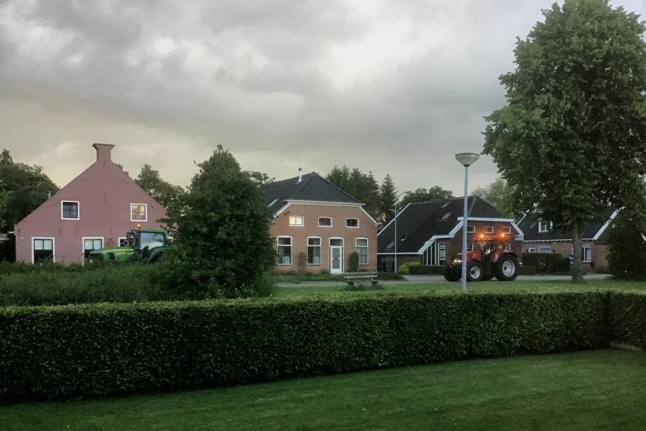 Boerenprotest door Gasselternijveen